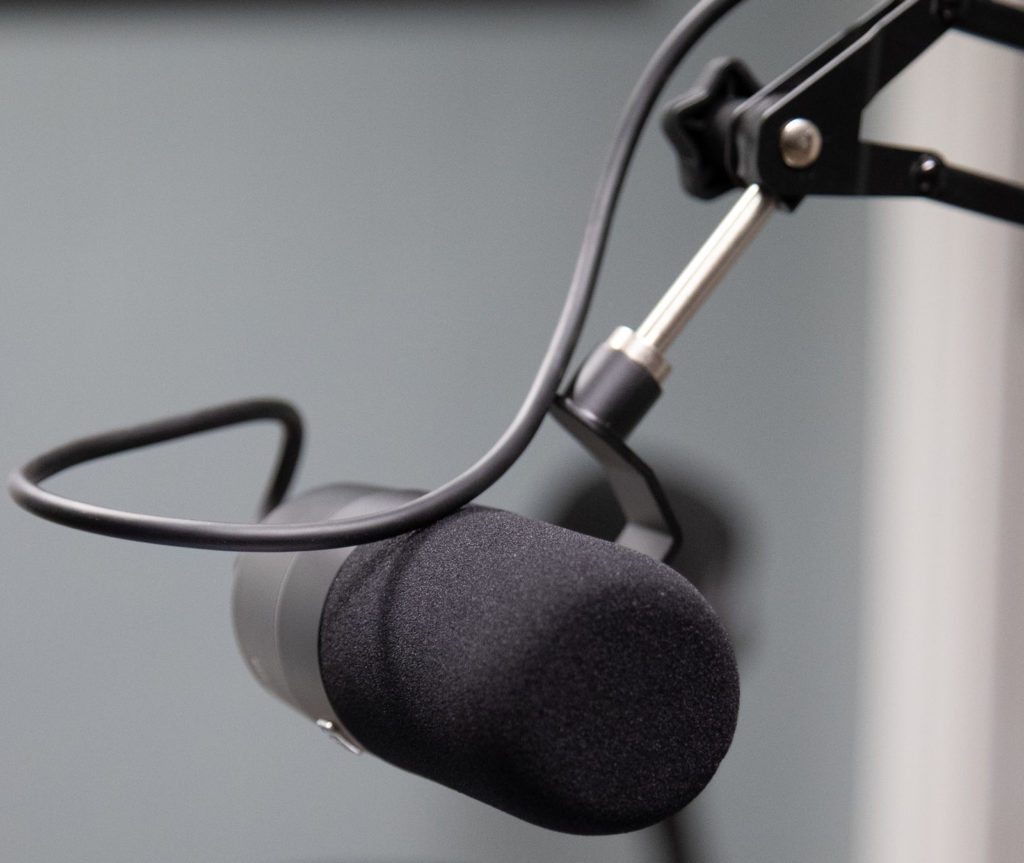 Electro Voice RE320 broadcast mic