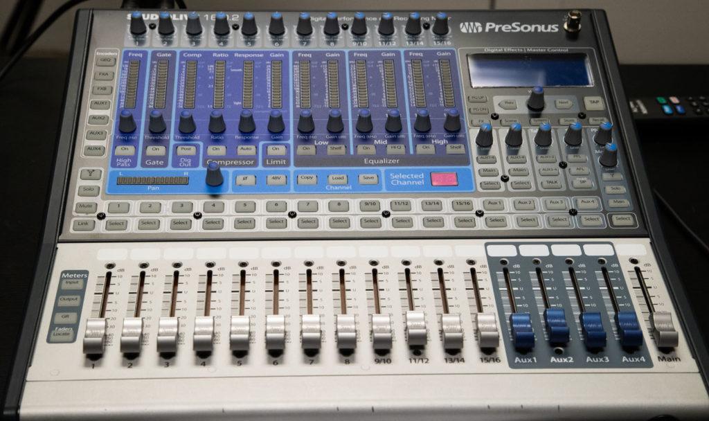 Presonus SudioLive 16.02 digital mixer
