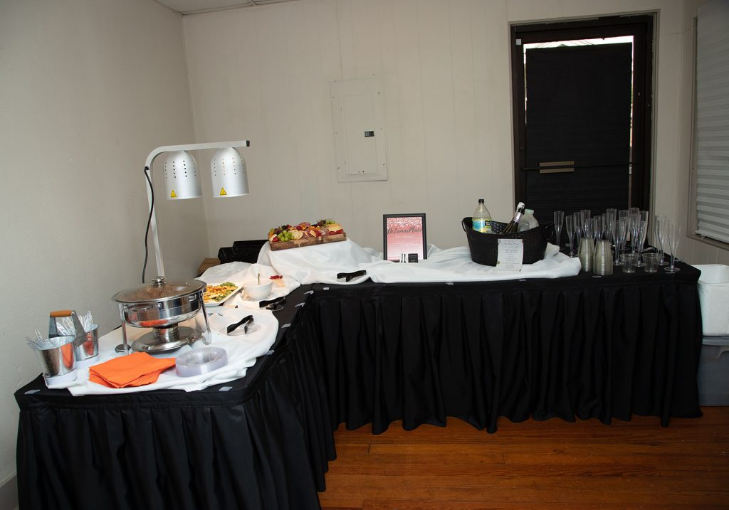 Set Up For Catering