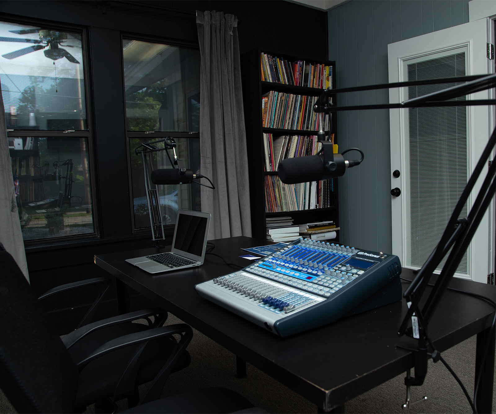 Delamar Place Podcast Room